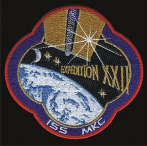 International Space Station Expedition 22 Patch